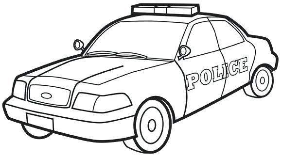 580x326 coloring pages of police cars coloring pages police police car