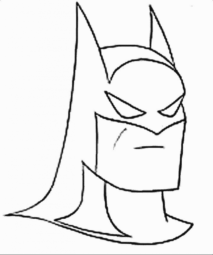 855x1024 Batman Cartoon Sketch Batman Cartoon Drawing At Getdrawings Free