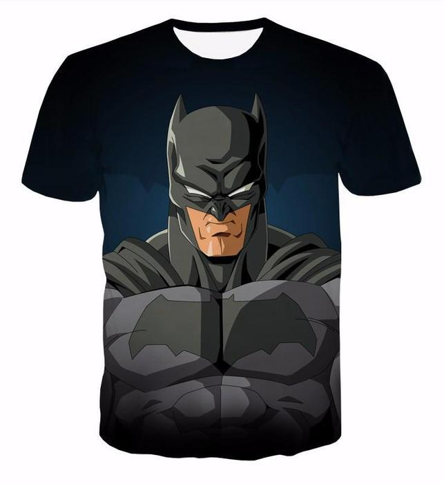 643x700 Batman Classic Cartoon Draw Dc Hero Theme Dope T Shirt