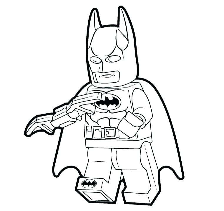 761x715 Images Of Batman Animated Series Coloring Pages