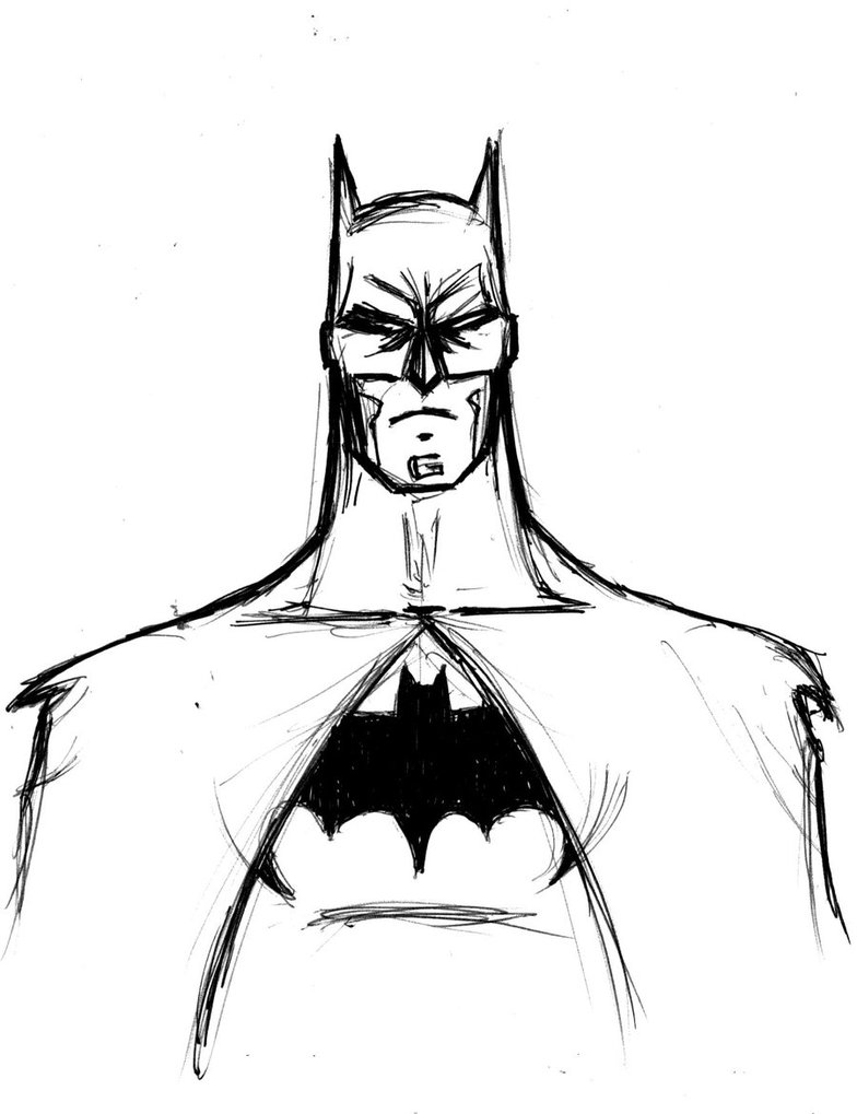 Batman Drawing Easy