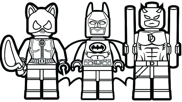 585x329 Coloring Pages Lego Batman Coloring