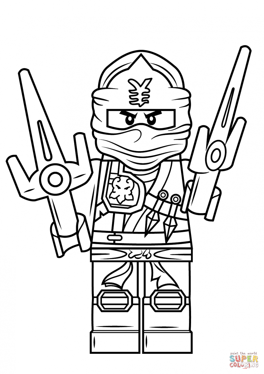 850x1203 Free Lego Coloring Pages Ninjago Pictures For Kids To Print Batman