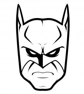 269x302 How To Draw Batman Easy, Step
