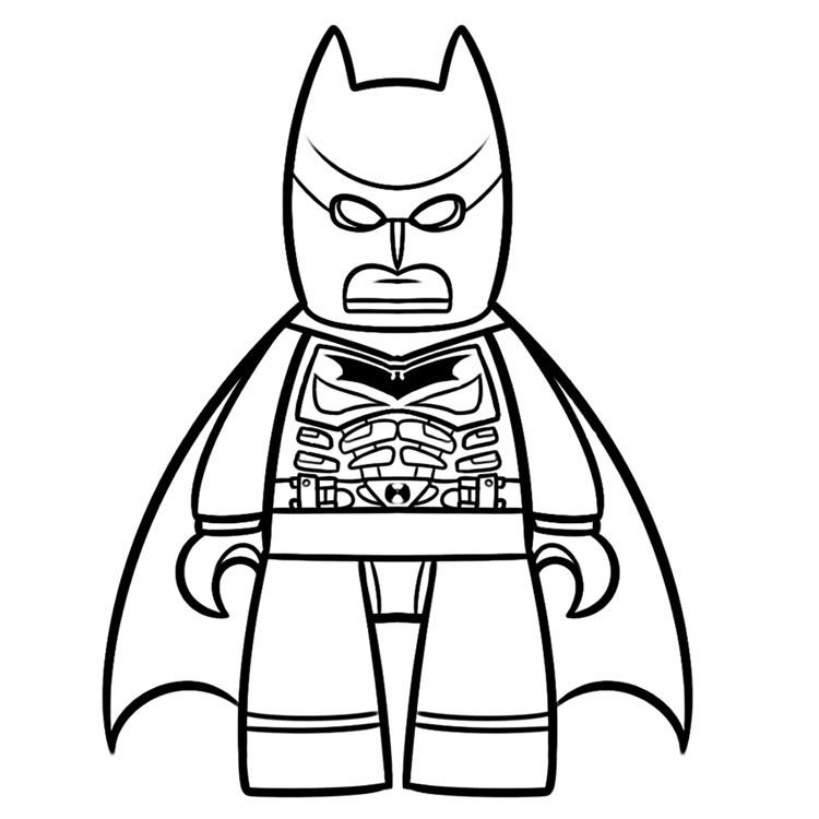 750x750 Batman Coloring Pages! Comic Book Coloring Pages Lego Coloring