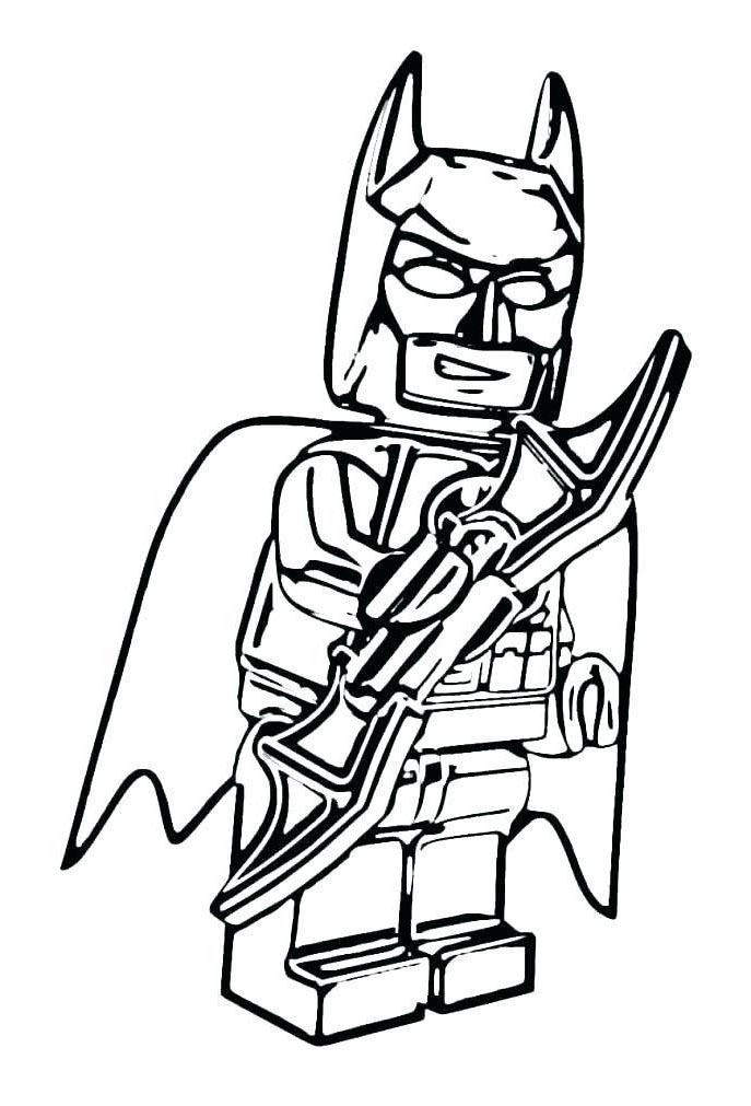 687x1011 Lego Batman Coloring Pages Awesome Sketch New