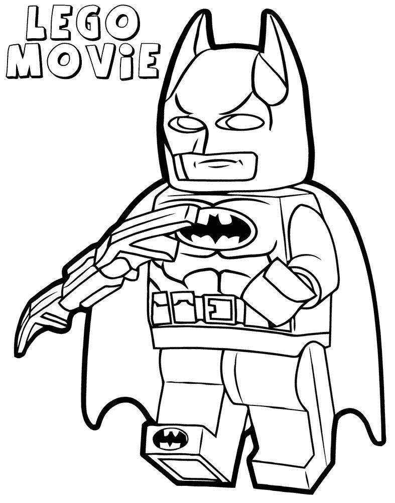 787x1000 Lego Batman Coloring Pages Printable Line Drawing