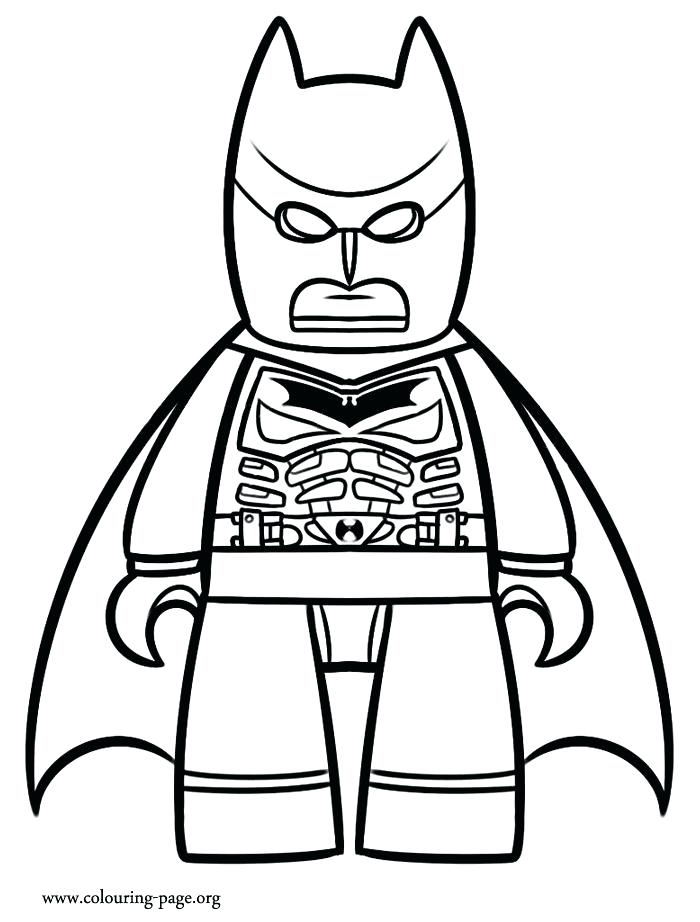 700x922 Batman Drawing Coloring Pages