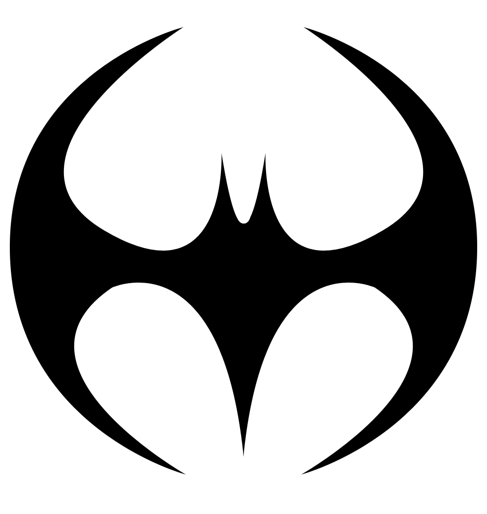 990x1044 Symetrical Drawing Batman Logo Transparent Png Clipart Free