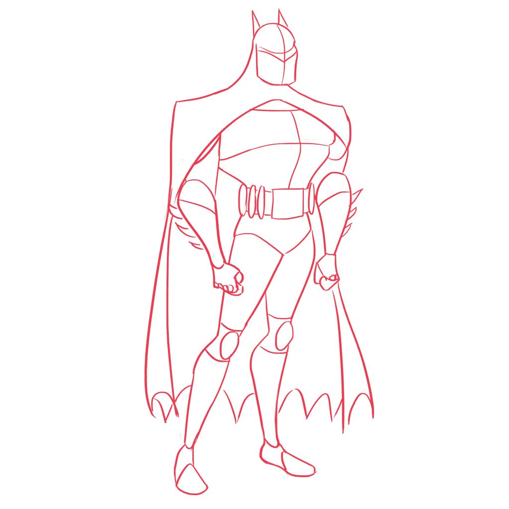 Batman Drawing Tutorial