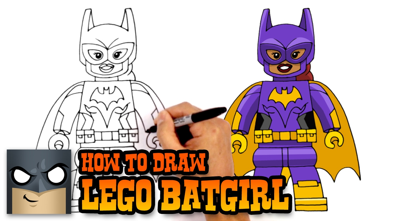 Batman Drawing Tutorial   Free download on ClipArtMag