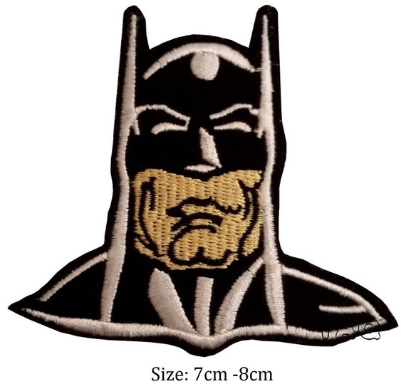 570x546 Batman Head Face Iron Sew On Patch Movie Fine Badge Etsy