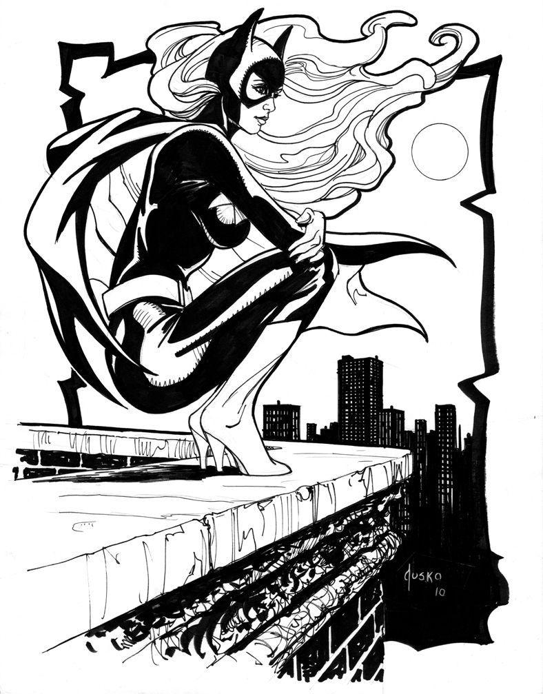 788x1007 batgirl sketches pencil ink batgirl, batman, batman love