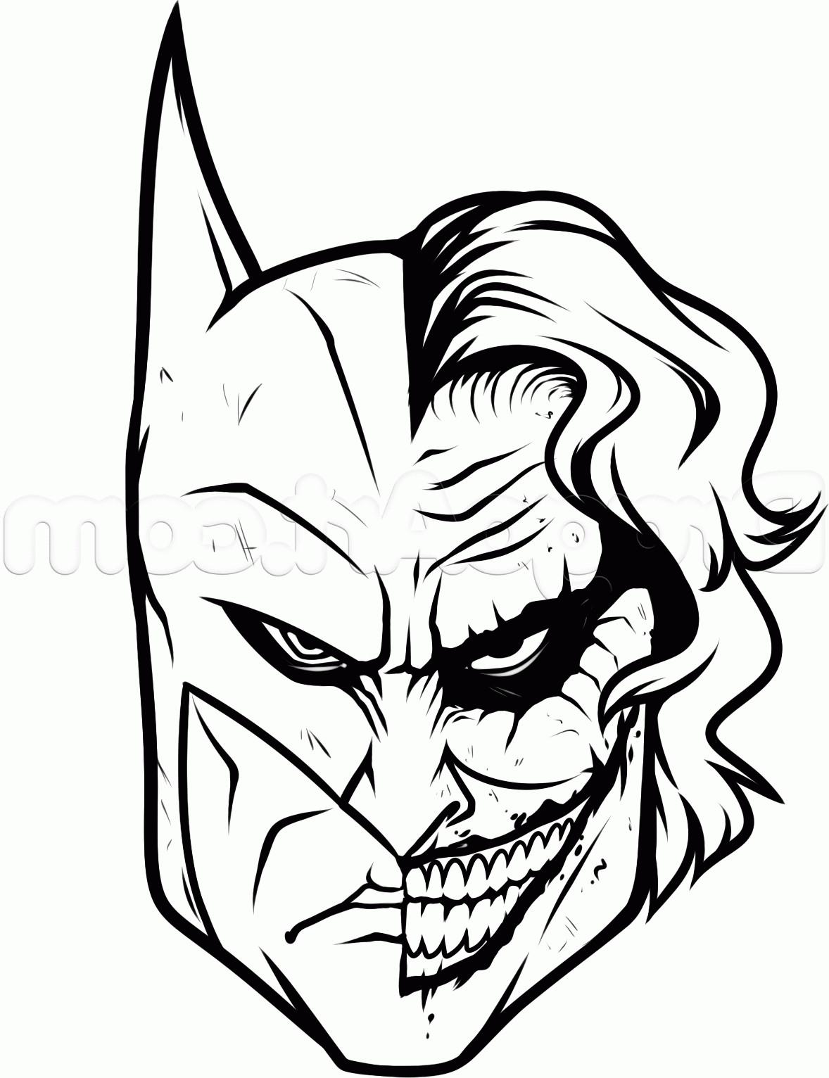 Batman Joker Drawing Free Download Best Batman Joker