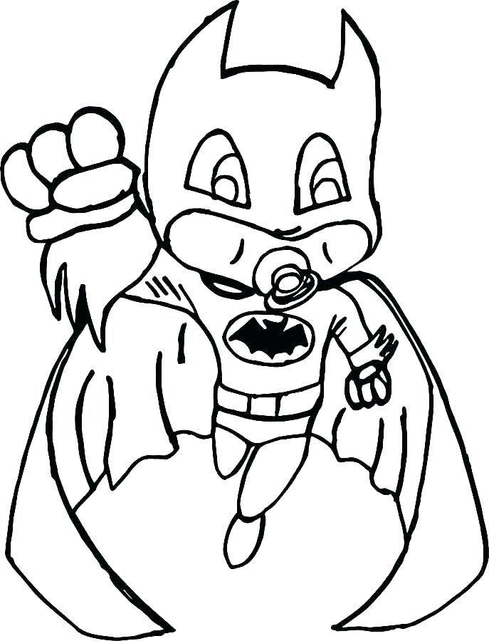 Batman Outline Drawing | Free download on ClipArtMag