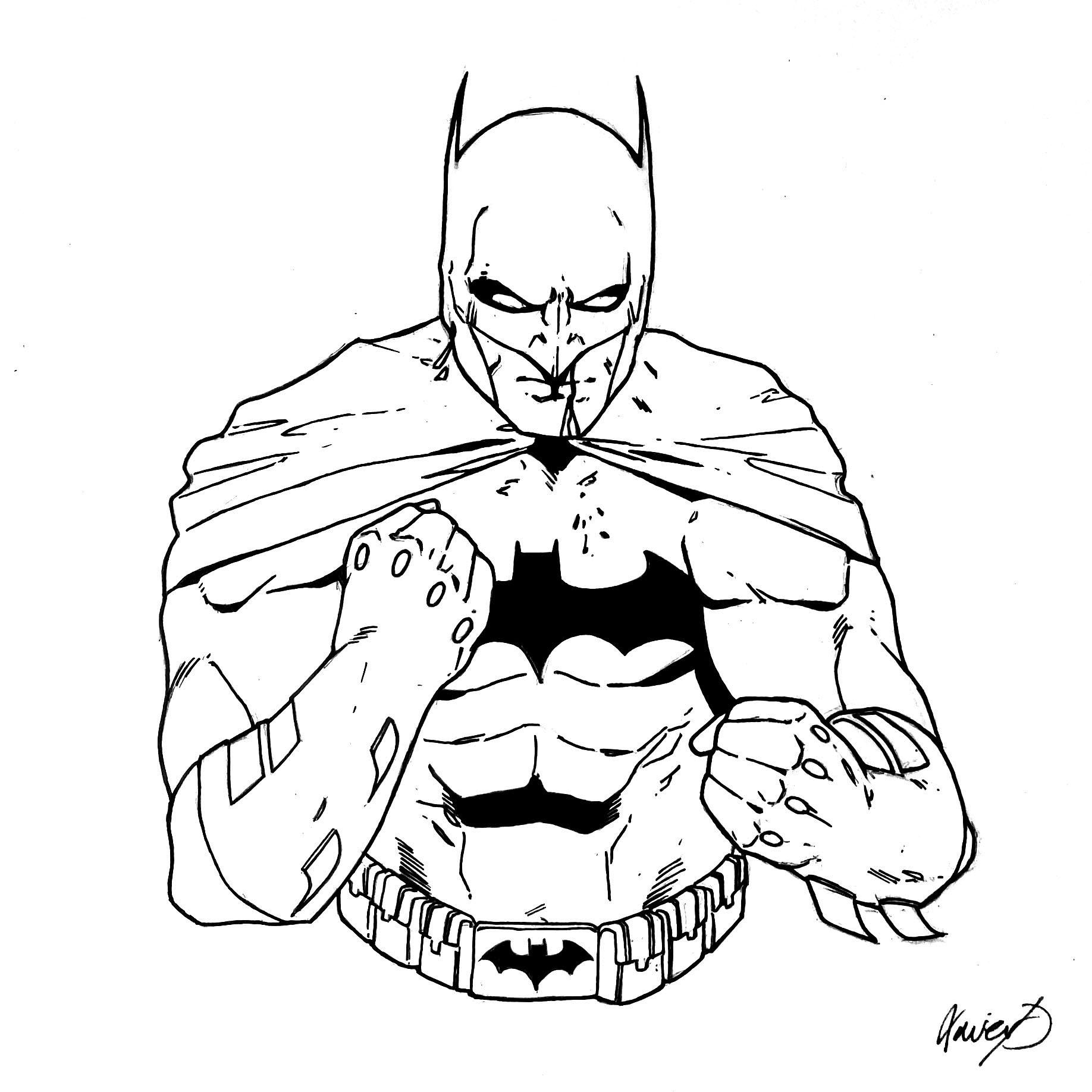 1836x1836 Batman Drawing I Did A While Back Comicbookart