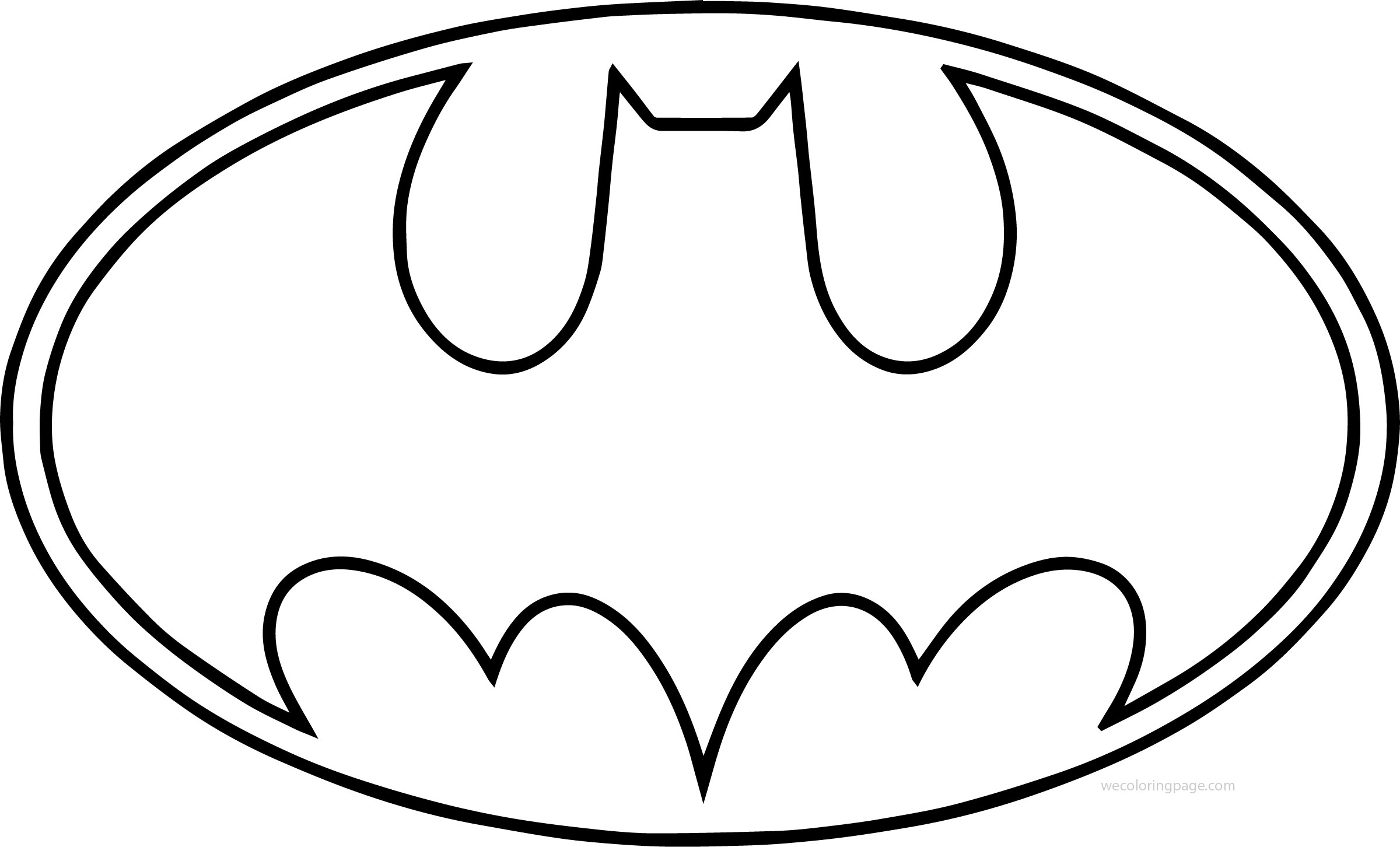 2400x1452 Huge Collection Of 'batman Drawing Logo' Download More Than