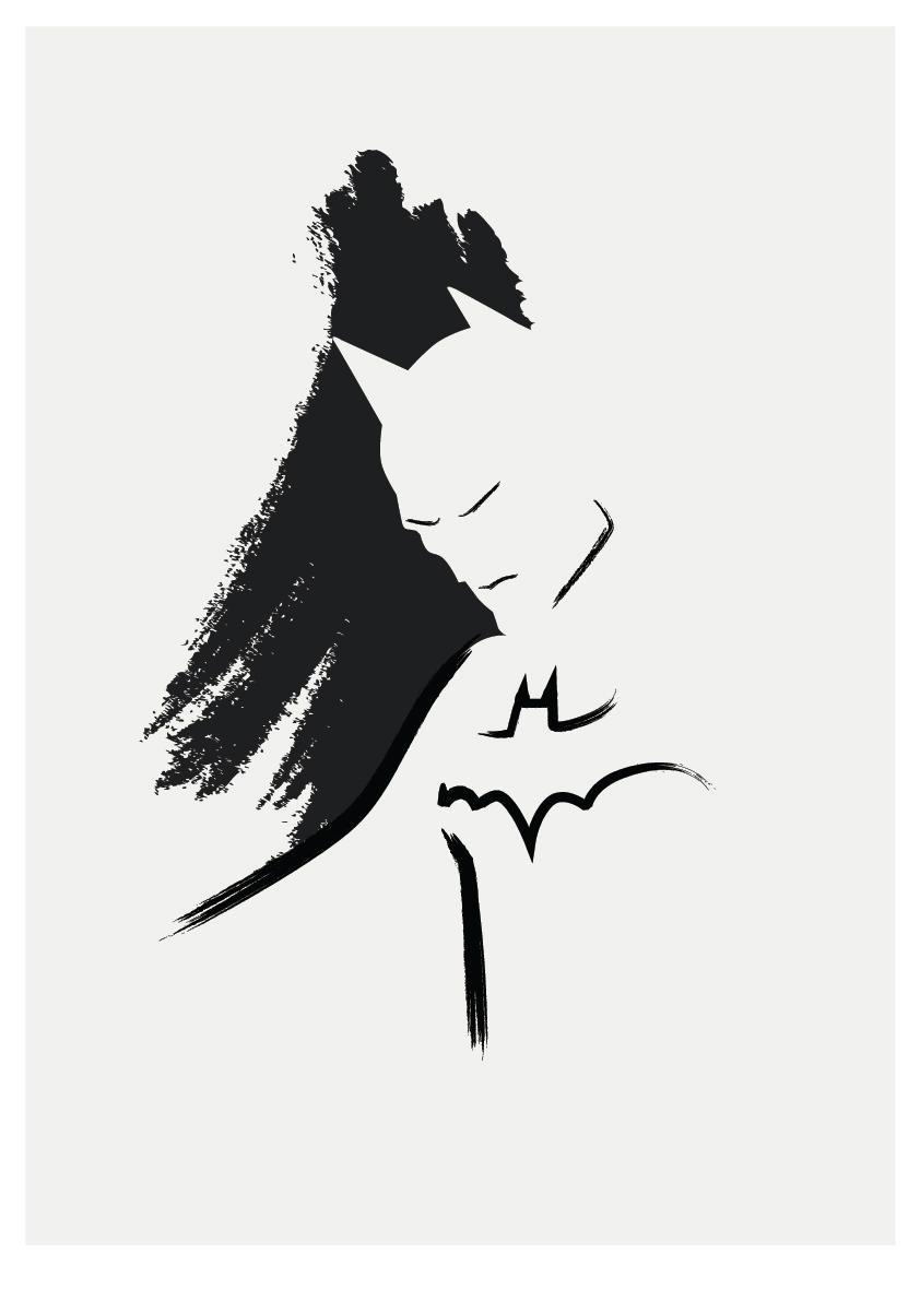 Batman Simple Drawing Free Download Best Batman Simple