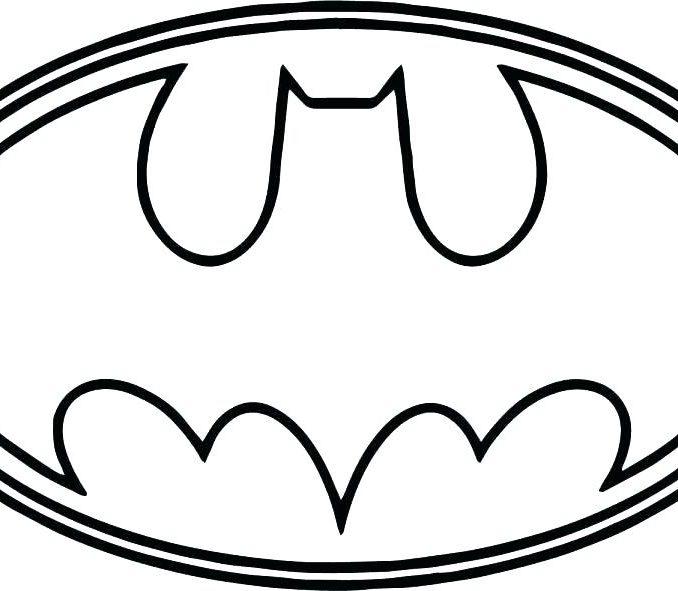 678x591 Batman Vs Superman Logo Coloring Pages Superman Logo Coloring