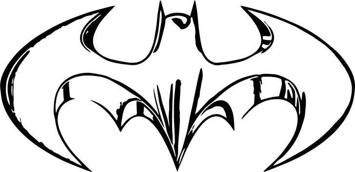728x353 Drawing A Batman Logo And Superman Line Vector Coreldraw Iydunetwork