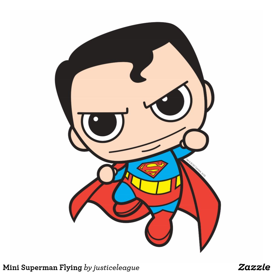 1106x1106 Mini Superman Flying Statuette Colliewood