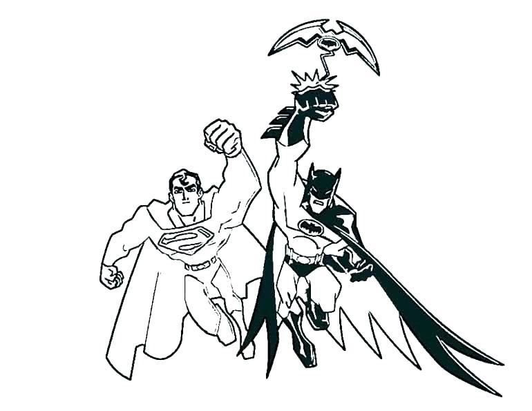 770x595 Valuable Idea Batman Vs Superman Coloring Pages Logo Printable