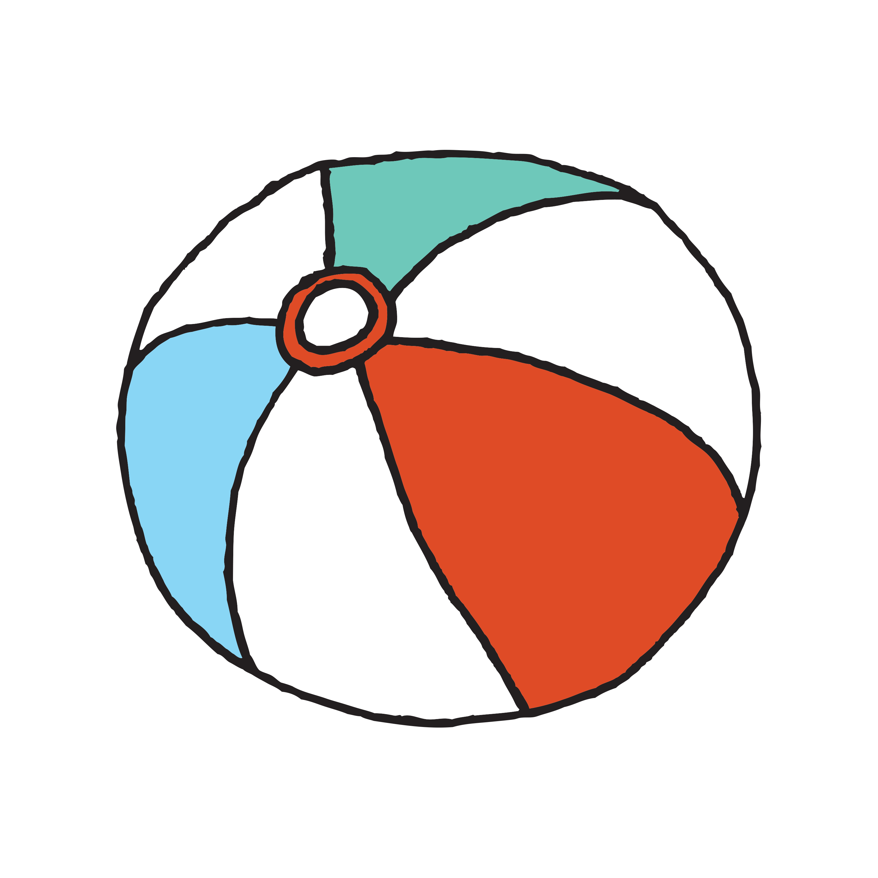 Beach Ball Drawing | Free download on ClipArtMag