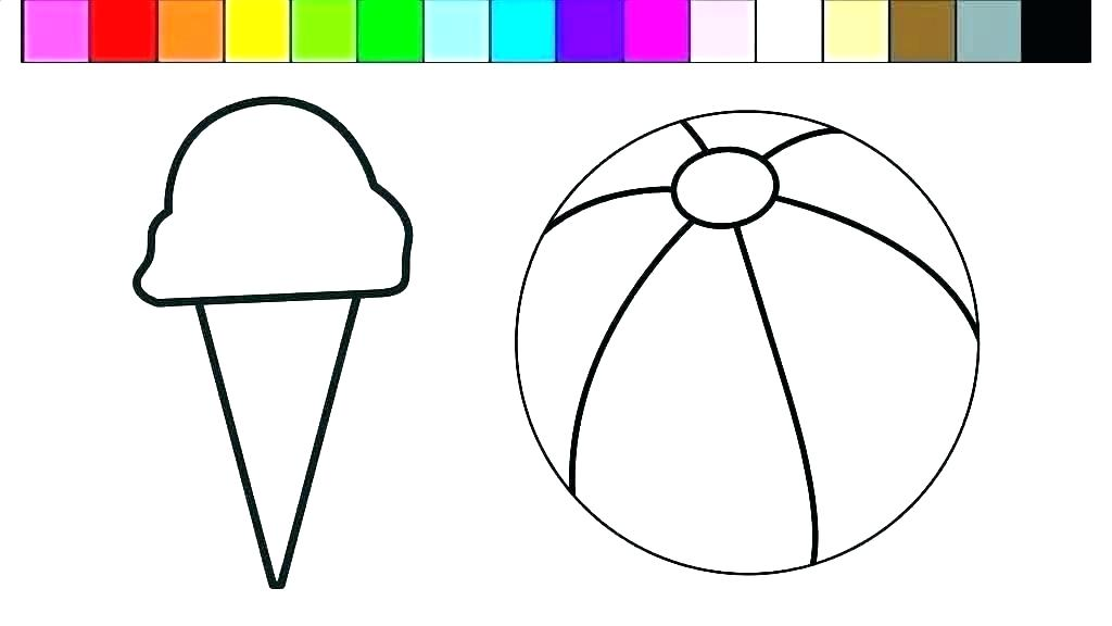 1024x576 beach ball coloring pages beach ball drawing toy ball coloring