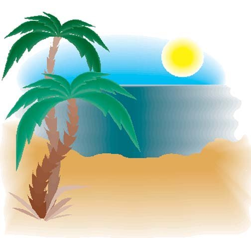 504x479 Drawing Ocean Landscapes With Palm Trees Pictures And Ideas
