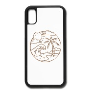 190x190 Beach Landscape Iphone X Case Spreadshirt