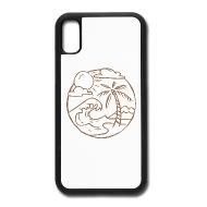 190x190 Beach Landscape Iphone X Case Spreadshirt