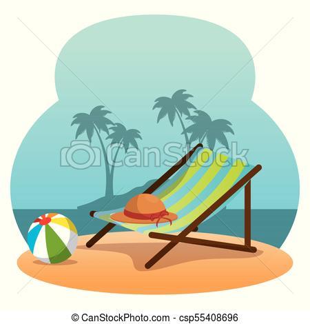 450x470 wooden beach chair on a beach landscape design wooden beach chair