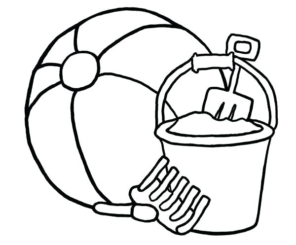 600x497 beach ball coloring pages beach ball drawing toy ball coloring