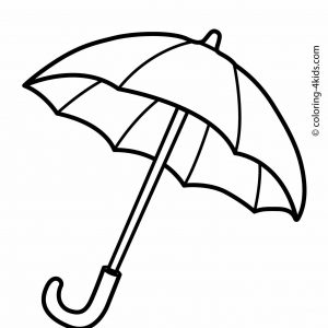 300x300 coloring pages beach umbrella fresh beach umbrella drawing