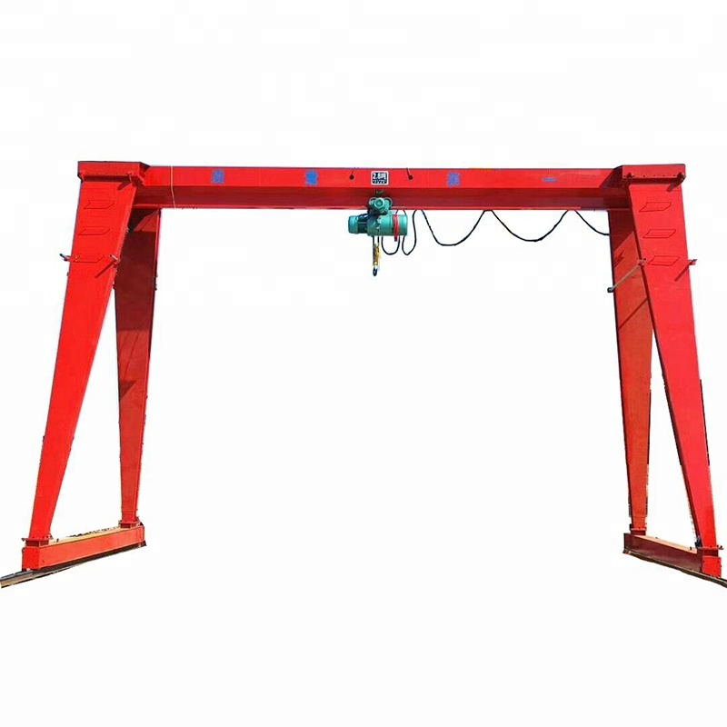 800x800 Double Beam Gantry Crane Design Single Girder Mobile