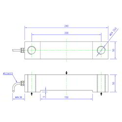 250x250 Beam Load Cell In Pune