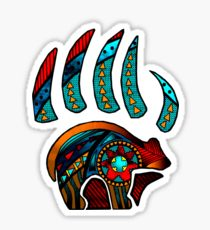 210x230 Bear Claw Drawing Stickers Redbubble