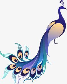 Beautiful Peacock Drawing