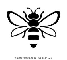 Bee Drawing Easy