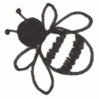 200x200 how to draw a simple bee bee decorations bee drawing easy, bee