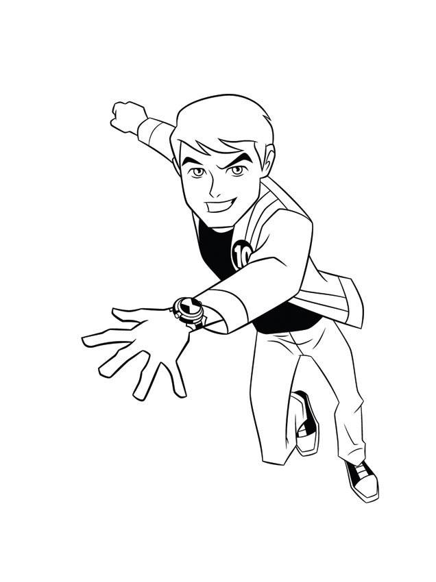 Ben Ten Drawing