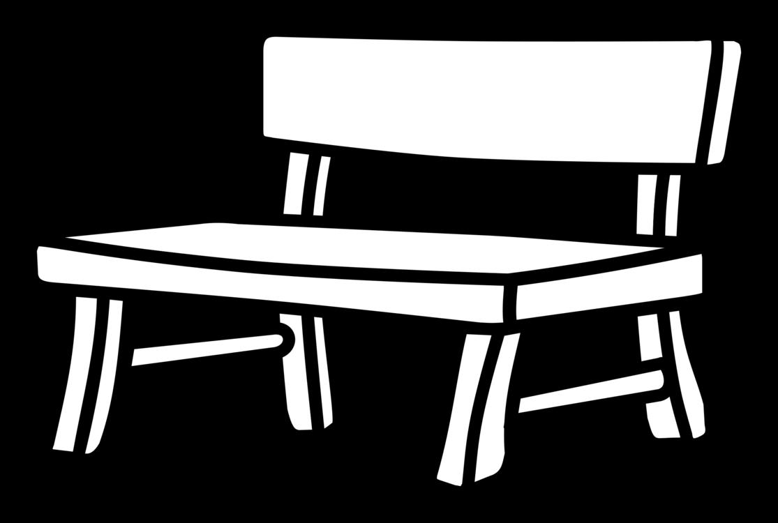 1115x750 Bench Drawing White Black Park Cc0