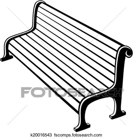 450x466 Clipart Of Park Bench Search Clip Art Outside Bench Cushions