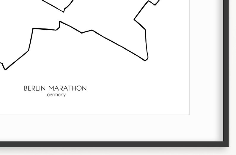 794x522 berlin marathon print x germany marathon runner etsy