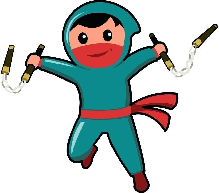 900x793 Ninja Drawing For Kids