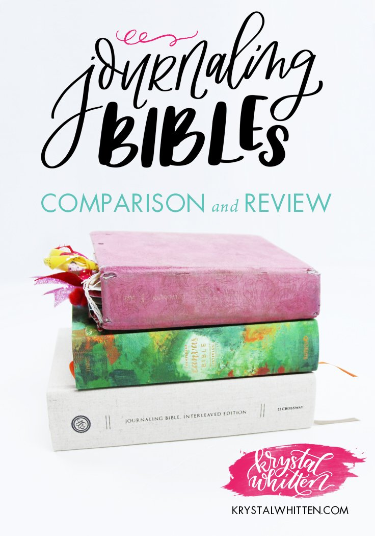736x1050 Journaling Bibles Comparison Review