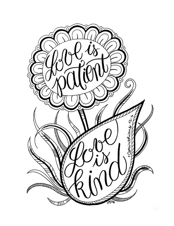 570x737 Love Is Patient, Love Is Kind