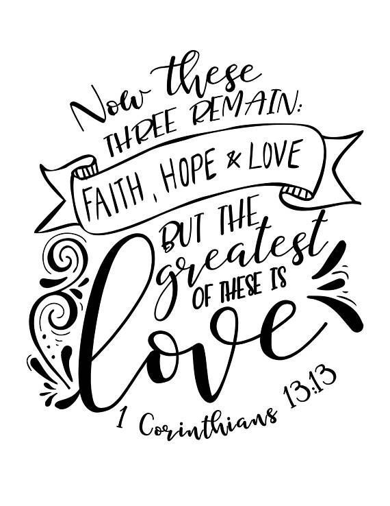 570x738 Faith Drawing Verse For Free Download