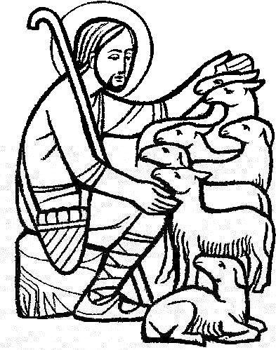 393x499 Good Shepherd Clip Art Images Pictures Becuo Shepherd