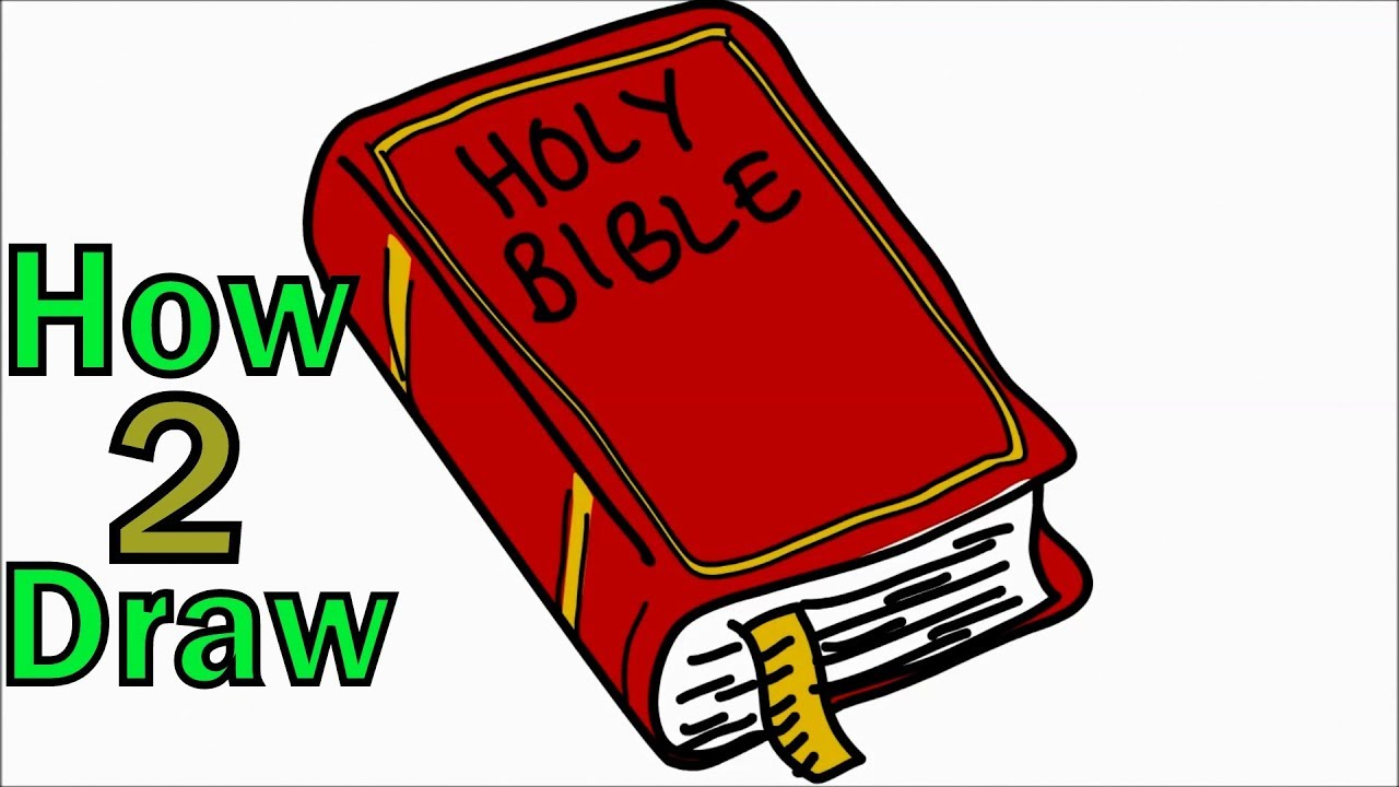1280x720 How To Draw The Holy Bible Arts For Kids